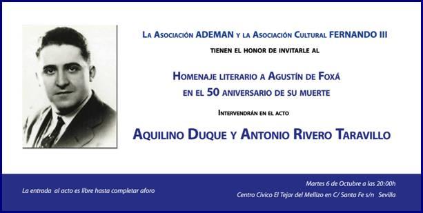 Agustín de Foxá Navarra Disidente