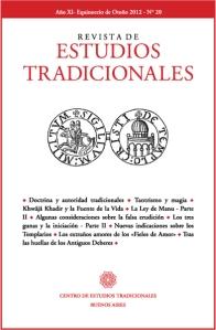REVISTA DE ESTUDIOS TRADICIONALES 20