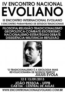 IV ENCONTRO NACIONAL EVOLIANO 2013