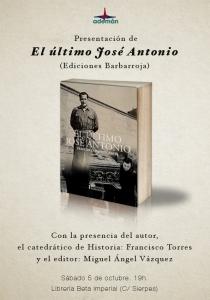 IZQUIERDA CAPITALISTA Y LIBRERIAS BETA CENSURAN ULTIMO JOSE ANTONIO