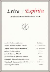 LETRA Y ESPIRITU 36 PROVIDENCIA Y DESTINO