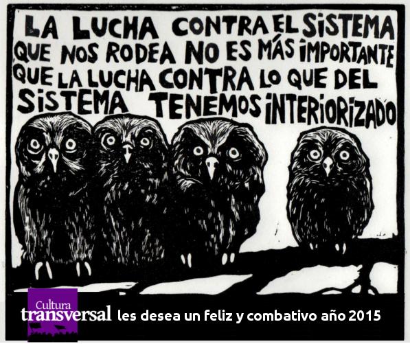 FELIZ AÑO 2015 CULTURA TRANSVERSAL
