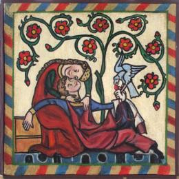 AMOR CORTES CODEX MANESSE S XIV
