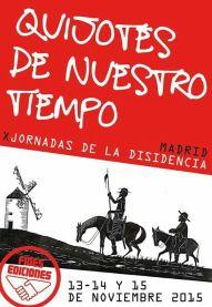 X JORNADAS DE LA DISIDENCIA 2015