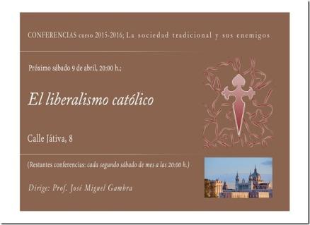 conferencia liberalismo catolico