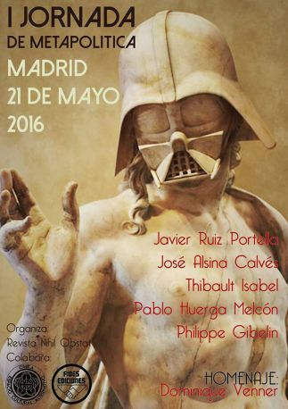 JORNADA METAPOLITICA MADRID 21 MAYO 2016