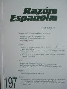 REVISTA RAZON ESPAÑOLA 197
